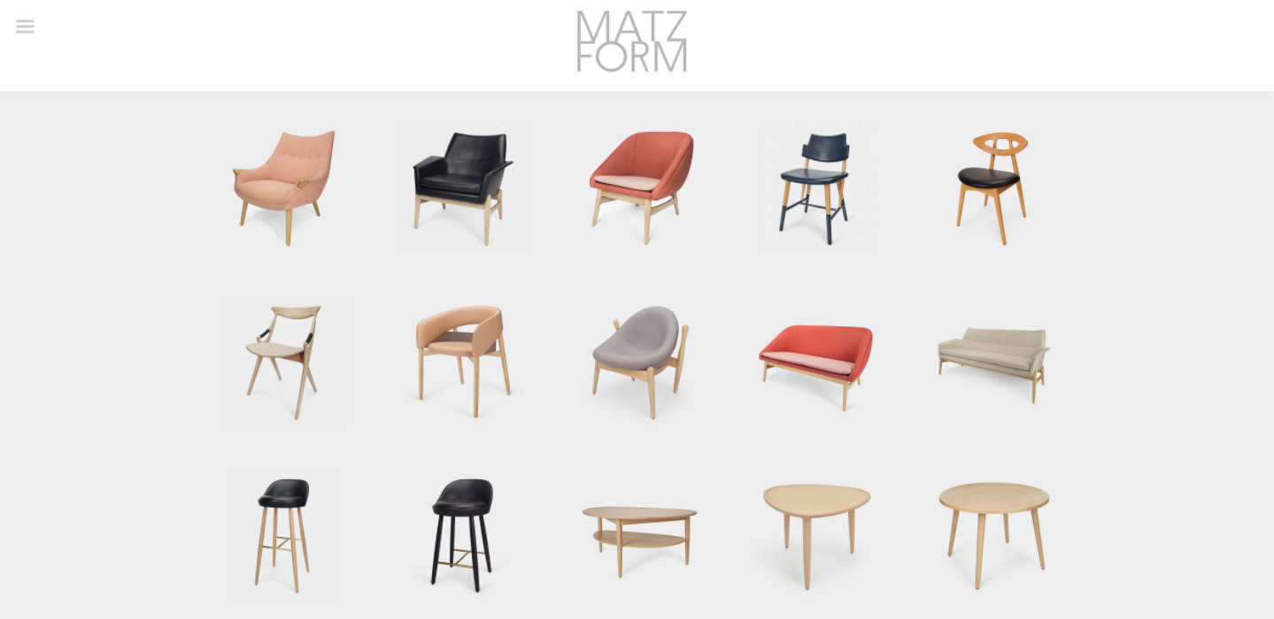 revived VI of design brand MatzForm
